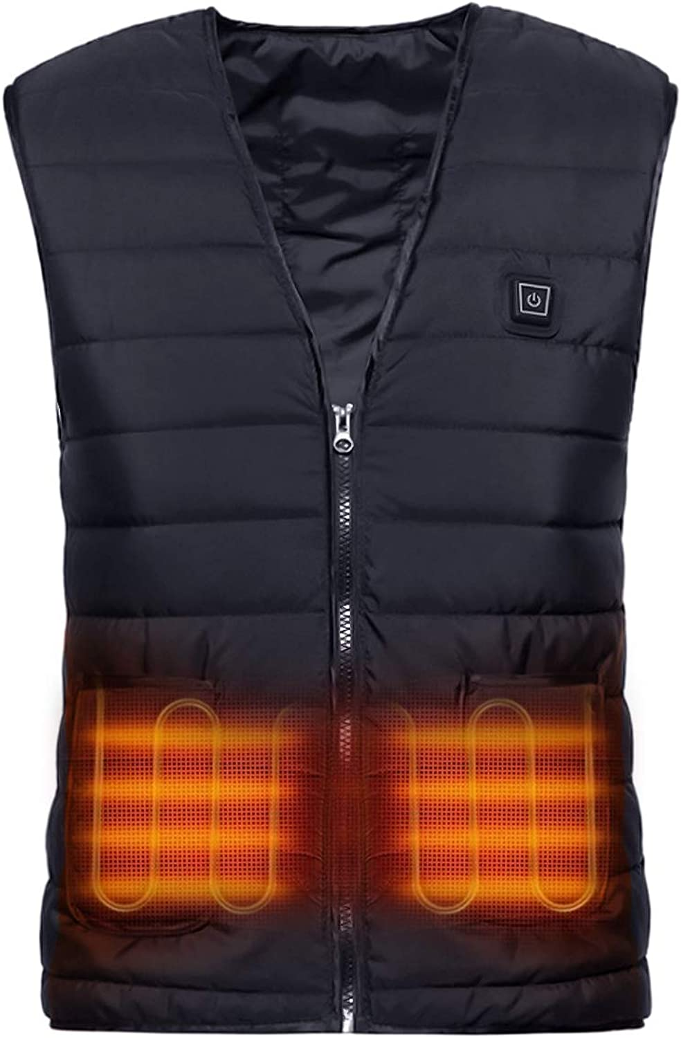 Factory outlet Yibang Heated Max 45% OFF Vest USB Body Lightweight Charging