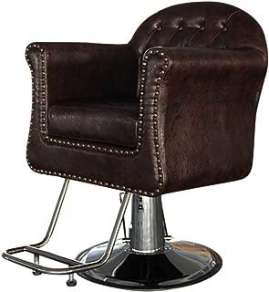 Shengyu Brown Hydraulic Styling Barber Chair Hair Spa Beauty Salon Equipment
