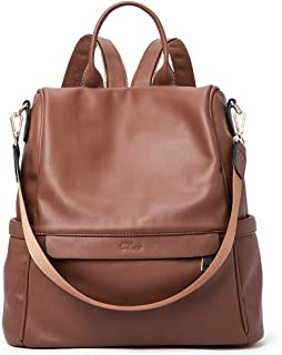 Women Backpack Purse Fashion Leather Large Travel Bag Ladies Shoulder Bags 930f7afe88085