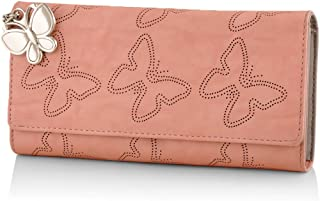 Butterflies Women's Wallet (Peach) (BNS 2383PCH)