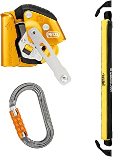 PETZL ASAP LOCK with 40cm ASAPsorbor and Petxl Tri-Act Ok Carabiner ANSI