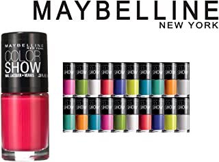 Lot of 10 Maybelline Color Show Finger Nail Polish Color Lacquer All Different Colors No Repeats