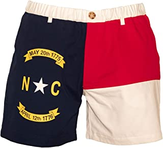 north carolina flag shorts