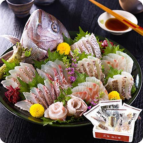 高級真鯛のお刺身セット贅沢4種類詰め合わせ