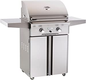 American Outdoor Grill 24 Inch Natural Gas Grill On Cart