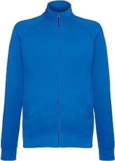 Fruit of The Loom Lightweight Sweatshirt Jacket Blank Plain SS928
