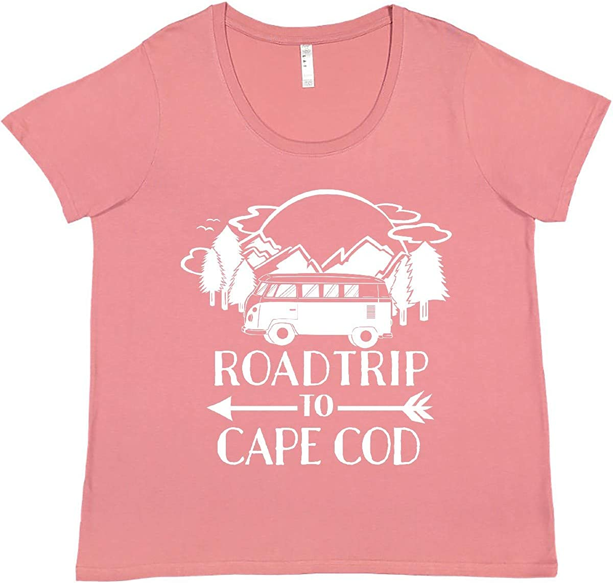 inktastic Road Trip to favorite Cape Ranking TOP5 Women's Cod T-Shirt Size Plus