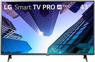 "TV LED 43"" LG ThinQ AI Full HD 43LM631C0SB, 3 HDMI, 2 USB, Wi-Fi, Conversor Digital"