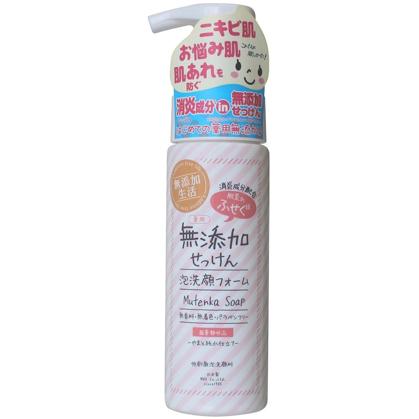 達成前部疫病肌荒れ防ぐ薬用無添加 洗顔フォーム 200mL