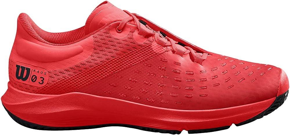 Wilson kaos 3.0 clay,scarpe da tennis,in pelle sintetica WRS326540E065
