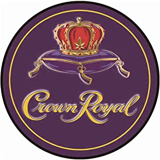 YOMIA Old Metal Signs Vintage Signs for Crown Royal Sign Beer Bar Pub Sign 30x30cm