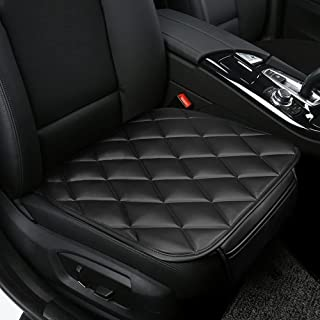 QBUC Car Seat Cushion Pad 2Pcs Car Interior Seat Cushion Mat with Pocket Car Seat Cover Protector Accessories for Car Sea...