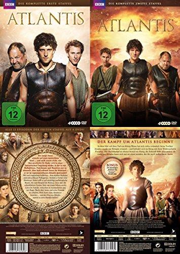 Atlantis - komplette Staffel 1 & 2 der BBC TV-Serie 8 DVD Edition