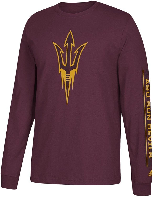 Adidas Arizona State University Men's Long Sleeve Tee Stadium Tee