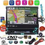 Caméra de recul sans Fil Incluse. 1 Din in Dash 17,8 cm Écran Tactile détachable Autoradio GPS...
