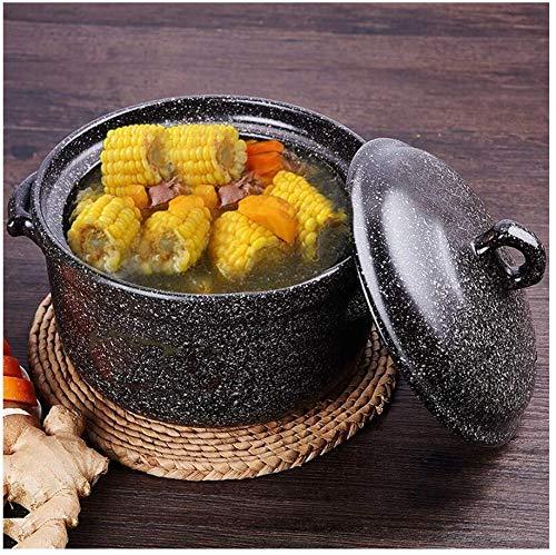 Hard geanodiseerde pannetjes set van keramiek gereedschap metaal krasbestendig 3,17 kwart 4,22 quart kookpan kookpan soeppan gemakkelijk te reinigen