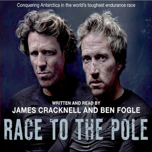 Race to the Pole audiobook cover art