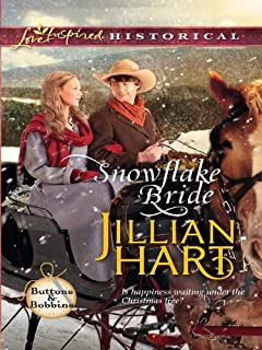 Snowflake Bride (Steeple Hill Love Inspired Historical: Buttons & Bobbins Book 4)