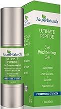 Azure Naturals Cucumber Infused Ultimate Peptide Eye Brightening Gel, 1 oz.