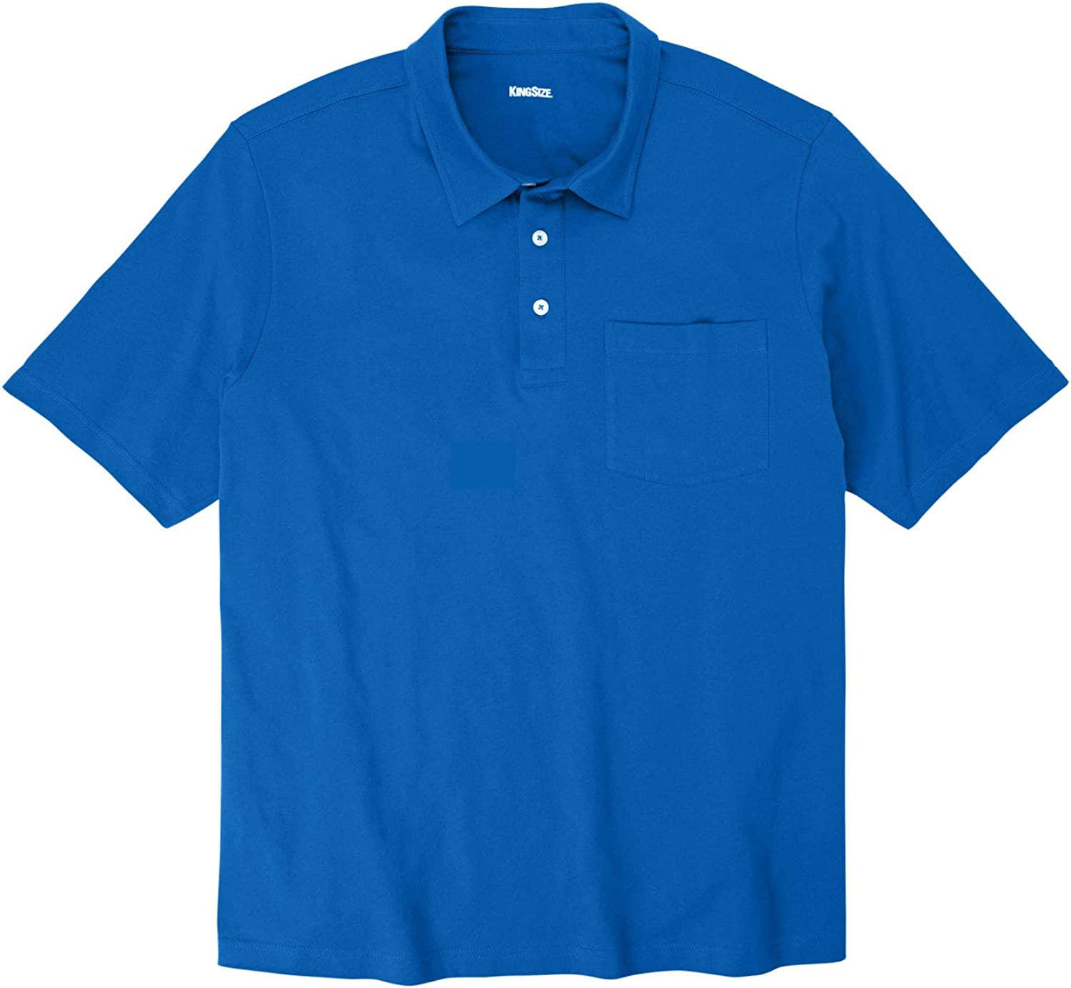 Max 53% OFF KingSize Beauty products Men's Big Tall Lightweight Polo Shrink-Less T-Shirt
