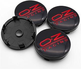 Wielnaafdoppen naafkappen wielen For Oz Racing 4 stks 56mm en 60mm Embleem Wielcentrum Hub Caps Badge Covers Auto Styling ...