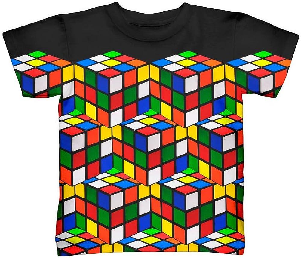 Yizzam- Rubix Cube Madness -Tshirt- Kids Shirt