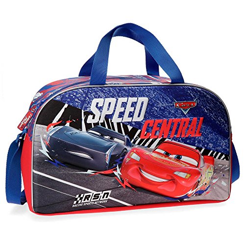 Bolsa de viaje Cars Central 45cm frontal 3D