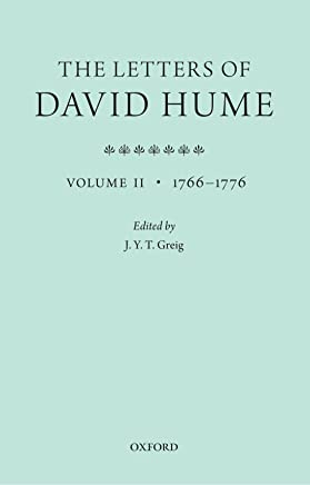 The Letters of David Hume: Volume II 1766-1776: 2
