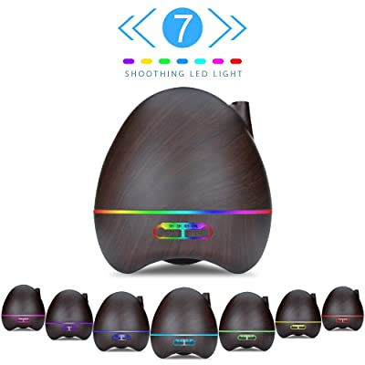 300 ml Aroma Oil Diffuser Mist Humidifier with ...