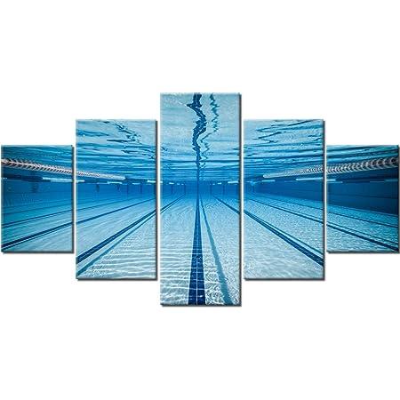 Swimming Pool Prints Set of 9 Pool Bathroom Wall Art