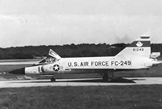 Home Comforts 526th Fighter-Interceptor Squadron Convair F-102 Delta Dagger 56-1249 Vivid Imagery Laminated Poster Print 24 x 36