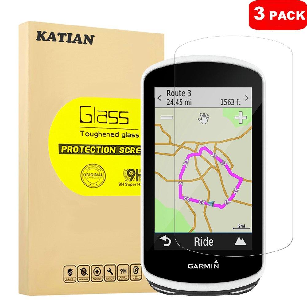 3 Pack] Garmin Edge 1030 Protector de Pantalla, KATIAN 9H Dureza ...