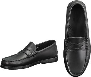 [パラブーツ] コインローファー メンズ靴 ブラック 黒 オイルドレザー CORAUXモデル coraux-093612 国内正規取扱