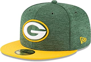 New Era Green Bay Packers NFL Sideline 18 Home On Field Cap 59fifty Fitted OTC