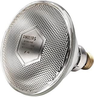 Philips 100 Watt, 120 Volt PAR38 Clear Infrared Halogen Heat Lamp Bulb