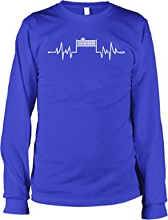 Volleyball Heartbeat Men's Long Sleeve Shirt