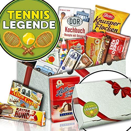 Tennislegende - Nervennahrung Schokolade - Geschenkidee Tennis
