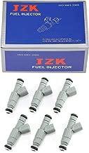 JZK Fuel Injectors 6pcs/Set 12576416 0280156201 M1069 4G1911 62273 2171540 217-1540 FJ723 12574393 0280156201 FJ723 0280156201 12576416 for Pontiac Grand Prix