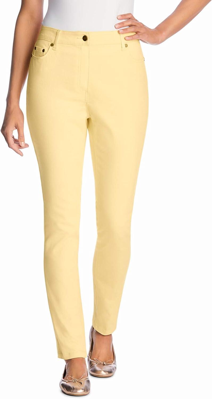 Woman Within Women's Plus Size Petite Stretch Skinny Jean