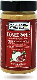 Panchkarma Ayurveda Herbal & Natural Pomegranate Peel Powder (Punica granatum/Anar Peel Powder) 100g For Fairness Sun-Tan ...