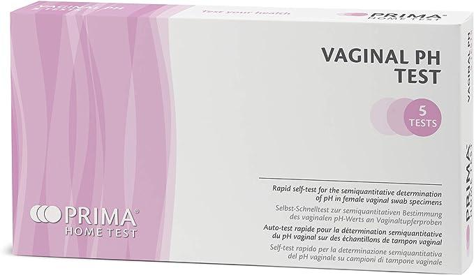 70 opinioni per PRIMA Home Test- Vaginal pH Test per Infezioni Batteriche Vaginali- 5 Test