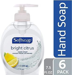 Softsoap Liquid Hand Soap, Bright Citrus - 7.5 fluid ounce (Pack of 6)