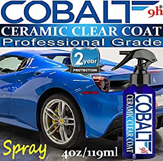 9H Ceramic CAR Coating Scratch Resistant Spray Paint SEALANT HIGH Gloss Wet Look 2 Year Protection