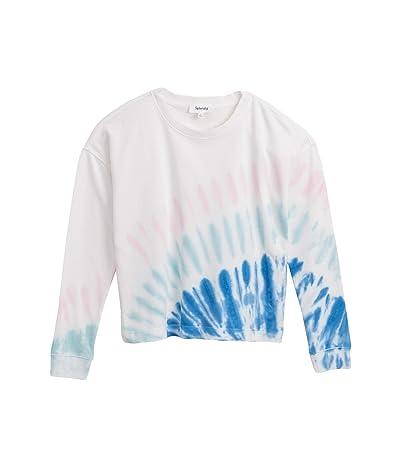 Splendid Sunrise Tie-Dye Pullover Sweatshirt (Multi Tie-Dye) Women