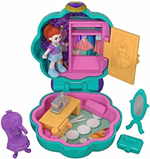 Polly Pocket Tiny Pocket Places Studio Compact with Micro Lila Doll & Accessories