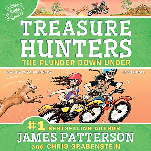 Page de couverture de Treasure Hunters: The Plunder Down Under