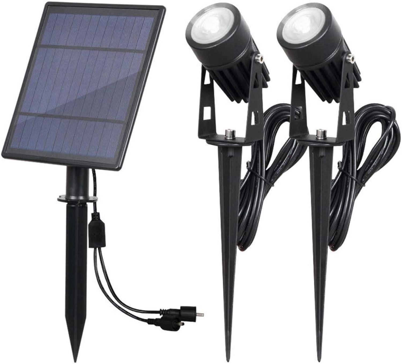 Solar-Flutlicht, Outdoor-Sicherheits-Wandleuchte mit hoher Helligkeit und wasserdichtem IP65-Scheinwerfer Rasenlicht geeignet für Garten,Weißlight