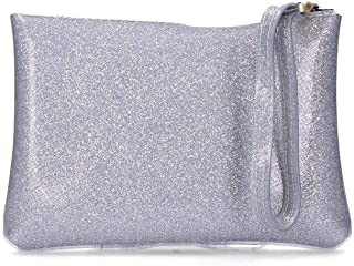 Gum Women's BC4051 Silver Pvc Clutch