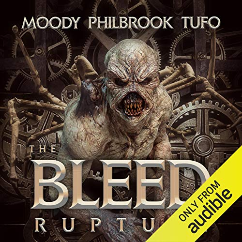 The Bleed Audiobook By Mark Tufo, Chris Philbrook, David Moody cover art