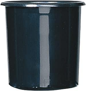 black flower buckets
